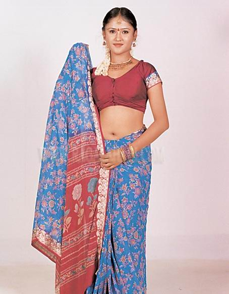Saree:actress