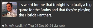 Florida Panthers Boston Bruins
