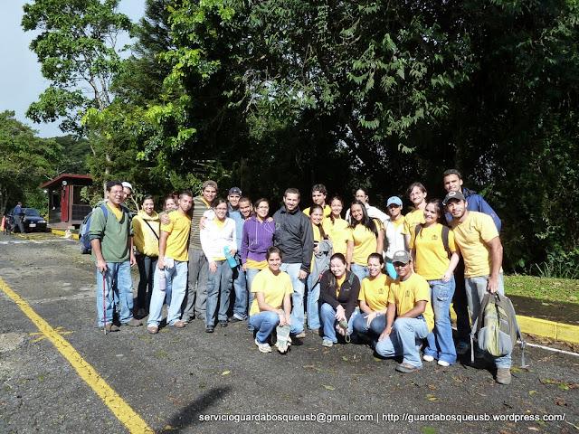 Equipo de Guardabosques de la Universidad Simón Bolívar