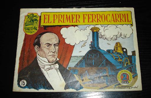 Tebeo catalan El Primer Ferrocarril nº