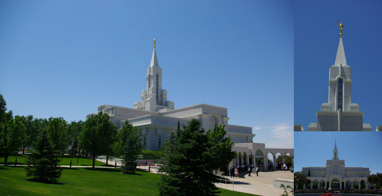 Bountiful Utah Temple, July 18, 2009