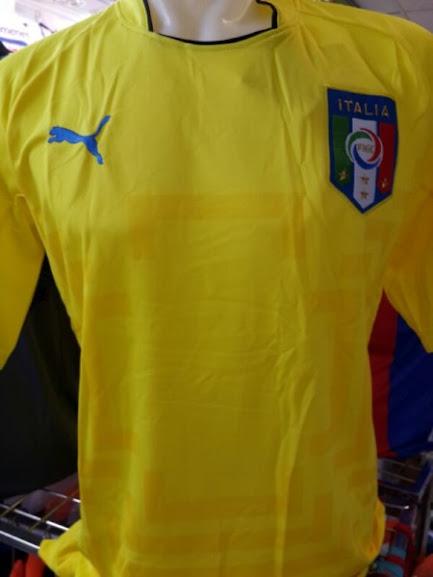 Jual Jersey Kiper Italia Kuning Piala Dunia 2014
