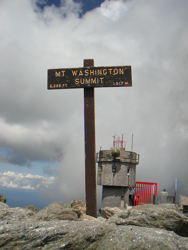 Mount Washington Hillclimb • Summit