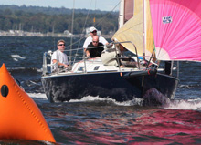 J/105 Eclipse- sailing AYC Fall Series