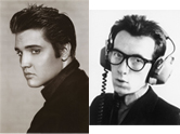 Elvis Presley vs. Elvis Costello