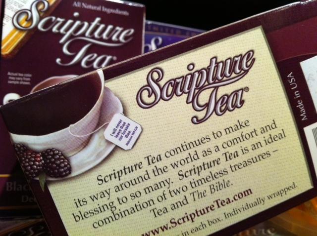 Scripture Tea