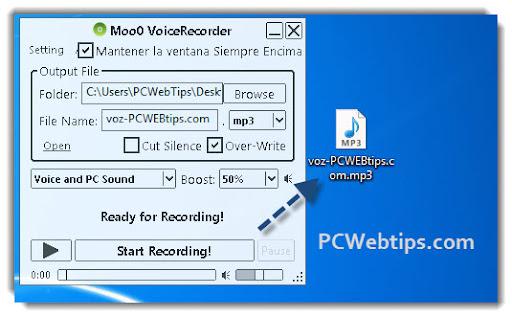 grabador de sonidos microfono: