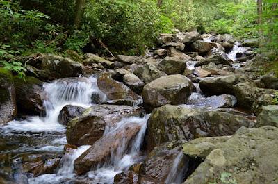 Cascade on Cabin Creek
