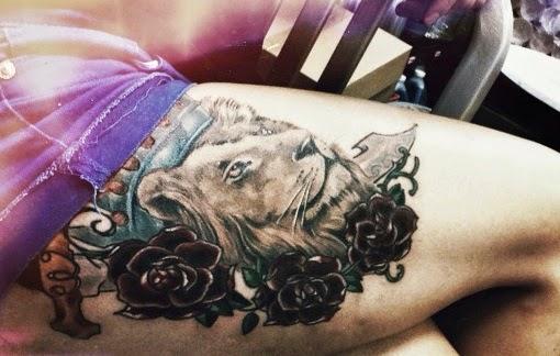 995663f9a 55 Brilliant Lion Tattoos Designs And Ideas
