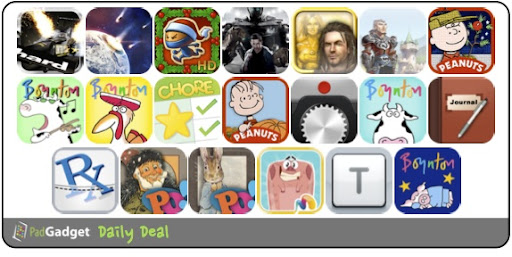 PadGadget Daily App Deal - 20 iPad Apps on Sale