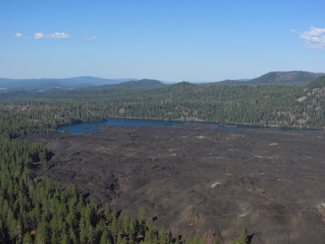 Butte Lake and Fantastic Lava Beds