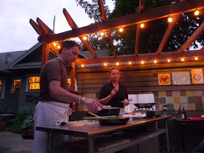 The Last Days of Summer: A cooking class with Caprial + John