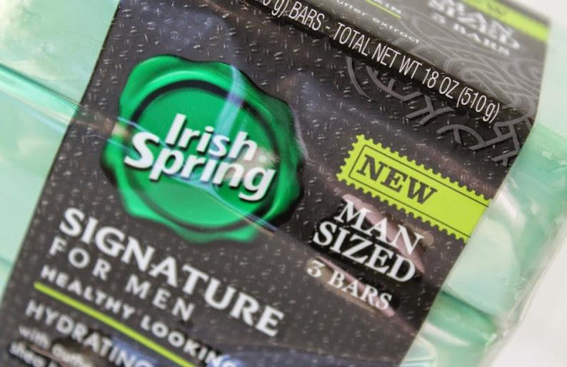 Irish Spring Man Sized soap for his man-sized smell #MySignatureMove