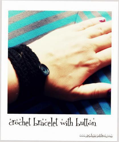Pinspiration Crochet Bracelet