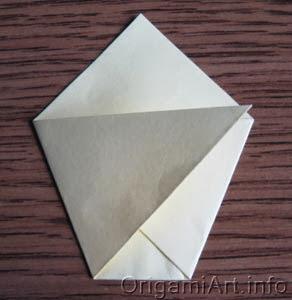 оригами чашка
