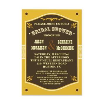 Invitations For Bridal Shower was luxury invitation sample