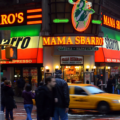 Mama Sbarro in New York City