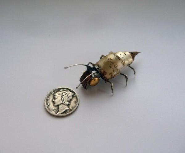 Механические насекомые. 12 фото