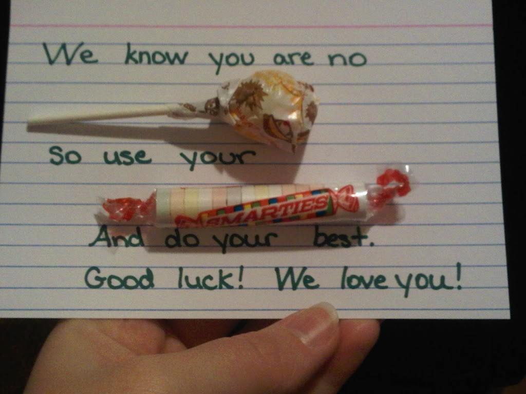 """#IamASmartie Smarties candy note candy gram encouragement craft"""
