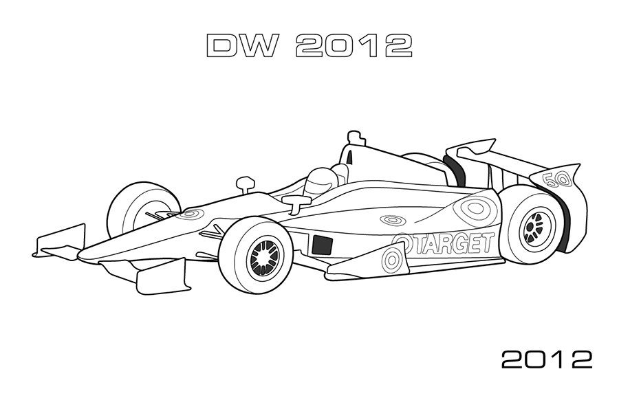 race car track coloring pages - photo#39