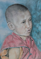 Child Monk A3-formaat.jpg