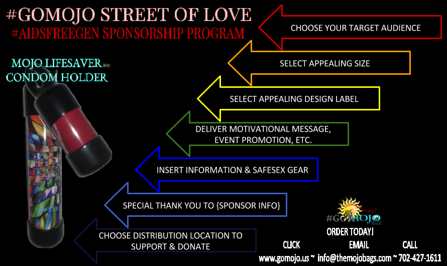 SUPPORT #GOMOJO STREET OF LOVE