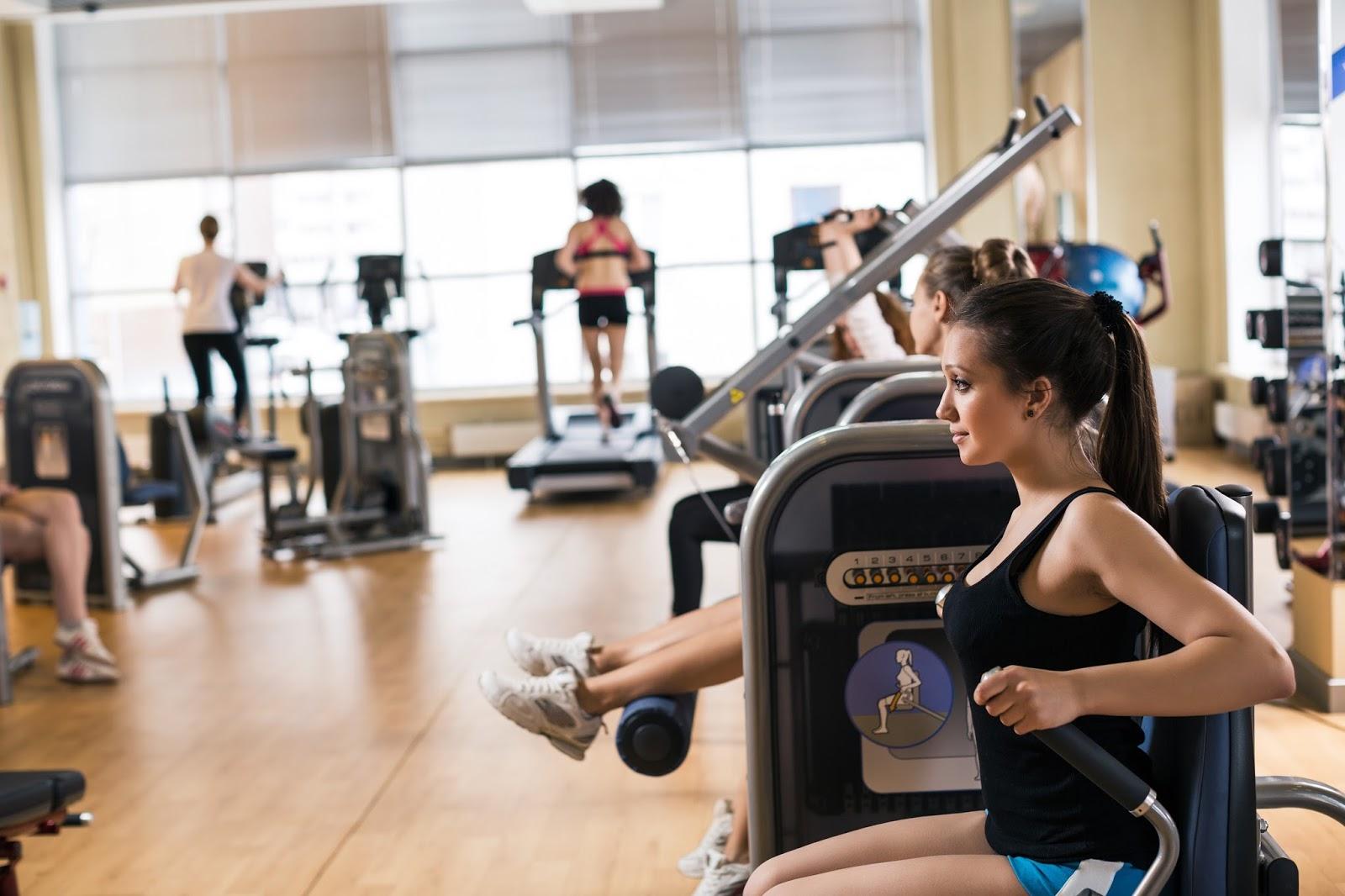 Phòng tập gym tại chung cư Udic Westlake Tây Hồ