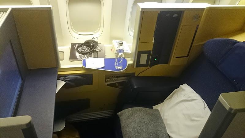 DSC 0968 - REVIEW - ANA : First Class - Tokyo Narita to London (B77W)