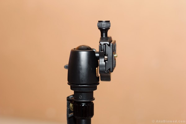 metal ball head quick release plate with water balancing