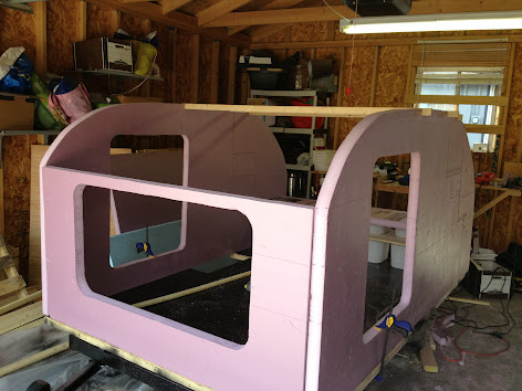Teardrops n Tiny Travel Trailers • View topic - Simple Foamie - 5x8