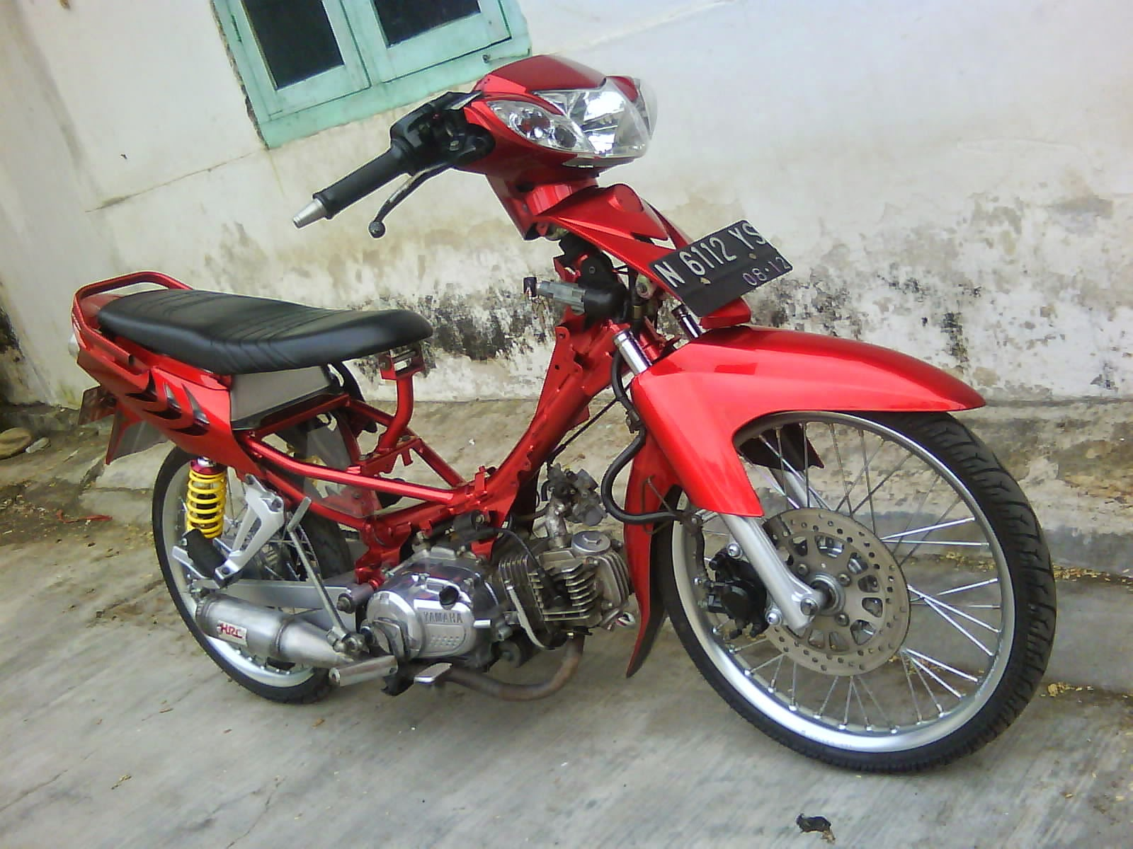 modifikasi yamaha fino 2013