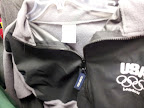 Official Licensed U.S. National Olympic Committee Fleece. Made in China.