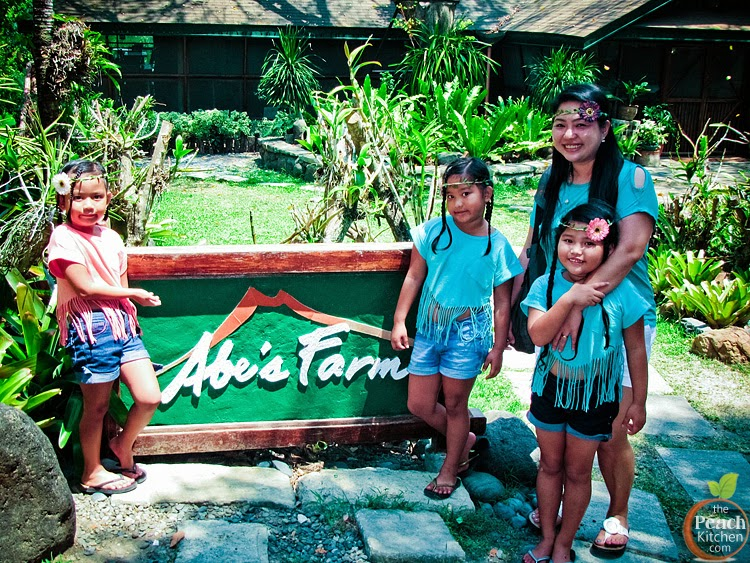 Lunch at Abe's Farm in Pampanga