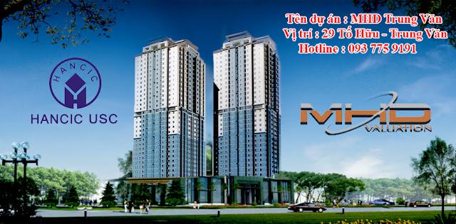 Phối cảnh dự án MHD Trung Văn