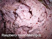Raspberry Italian Meringue