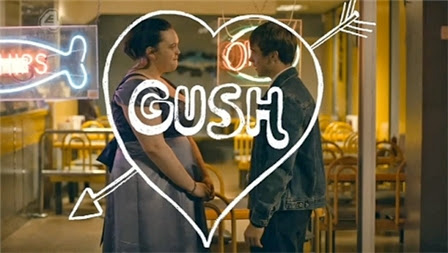 My Mad Fat Diary - Rae and Finn inside Gush heart