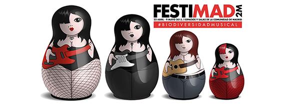 'Festimad 2M' 2015 se celebrará del 22 de abril al 9 de mayo