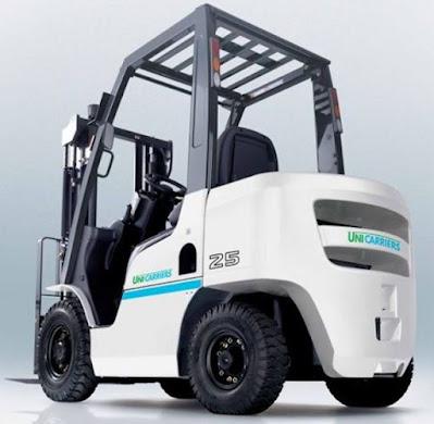 Xe nâng Unicarriers 1.5 – 3.5 tấn diesel LPG