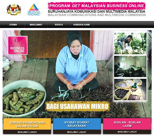 Website Grant by Get Malaysian Business Online Program