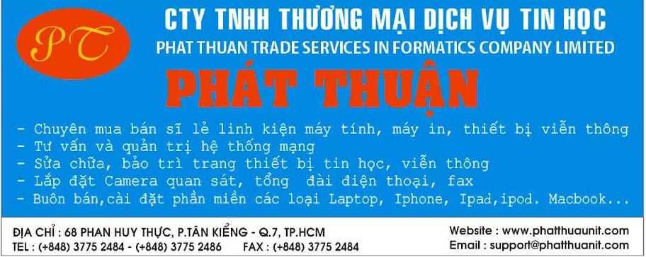 Công ty TNHH Thương mại dịch vụ tin học Phát Thuận