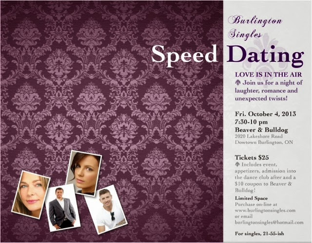 Single in the city speed dating burlington