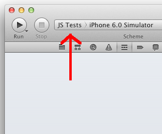 Xcode JS-Tests