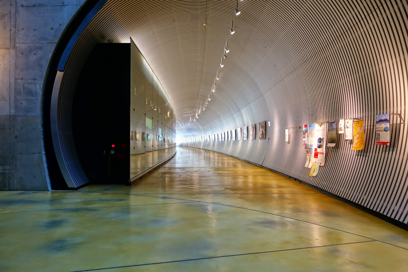 The underground walkway