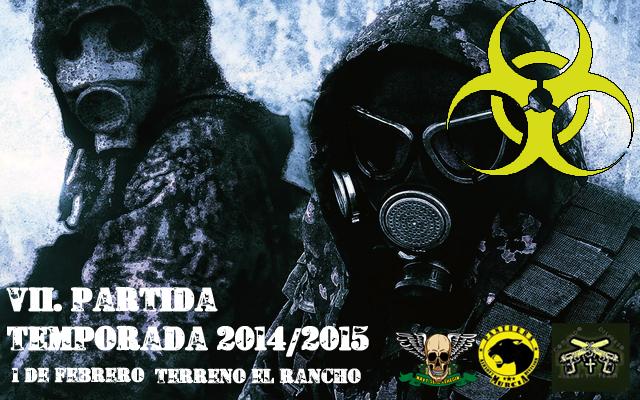 7º  PARTIDA T.14/15. DIA 1 DE FEBRERO DEL 15 TERRENO EL RANCHO JWoj13F