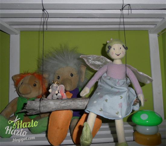 Cómo hacer un columpio para muñecos.