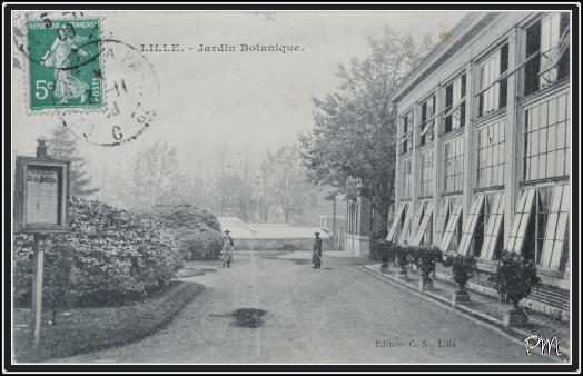 Lille l 39 art nouveau et l 39 art d co la madeleine avenue for Boulevard jardin botanique