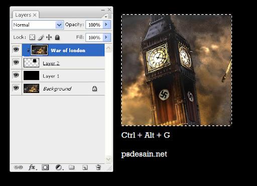 4 manipulasi foto belajar photoshop