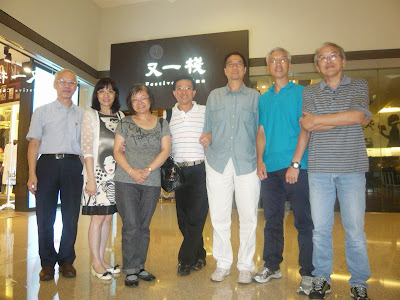 梁宗岳訪港,2014年5月18日與同學在又一棧相聚