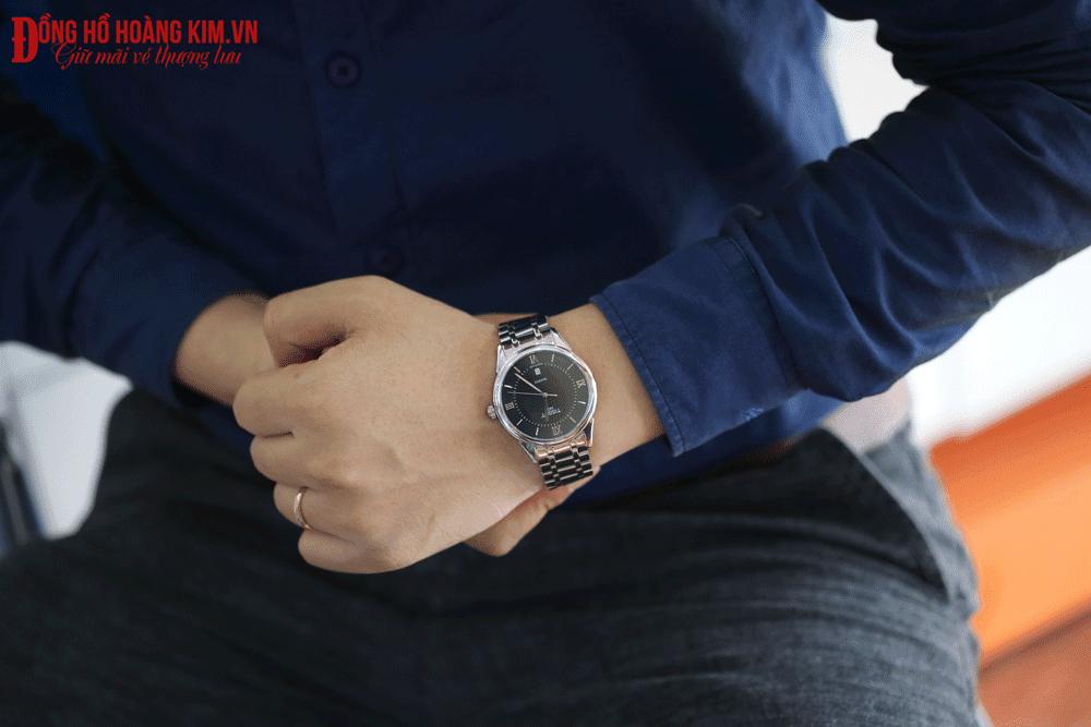 Địa chỉ bán những mẫu đồng hồ nam dây sắt đẹp nhất vịnh bắc bộ - 28