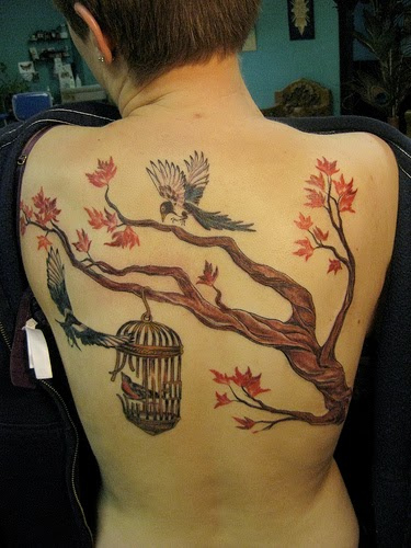6b6d3cb98 58 Coolest Tree Tattoos Designs And Ideas